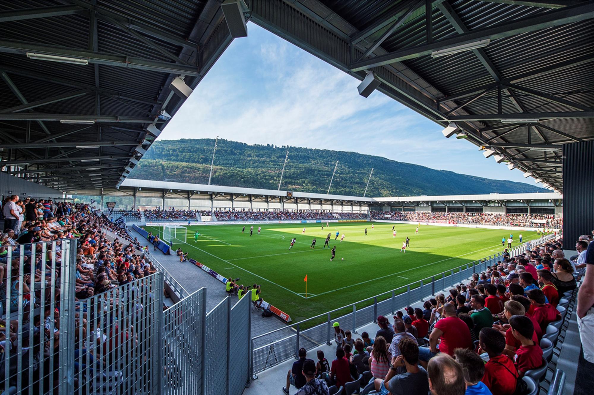 Tissot Arena Events Raume Layouts Fussballstadion